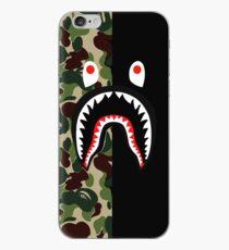 Bape Hai schwarz iPhone-Hülle & Cover