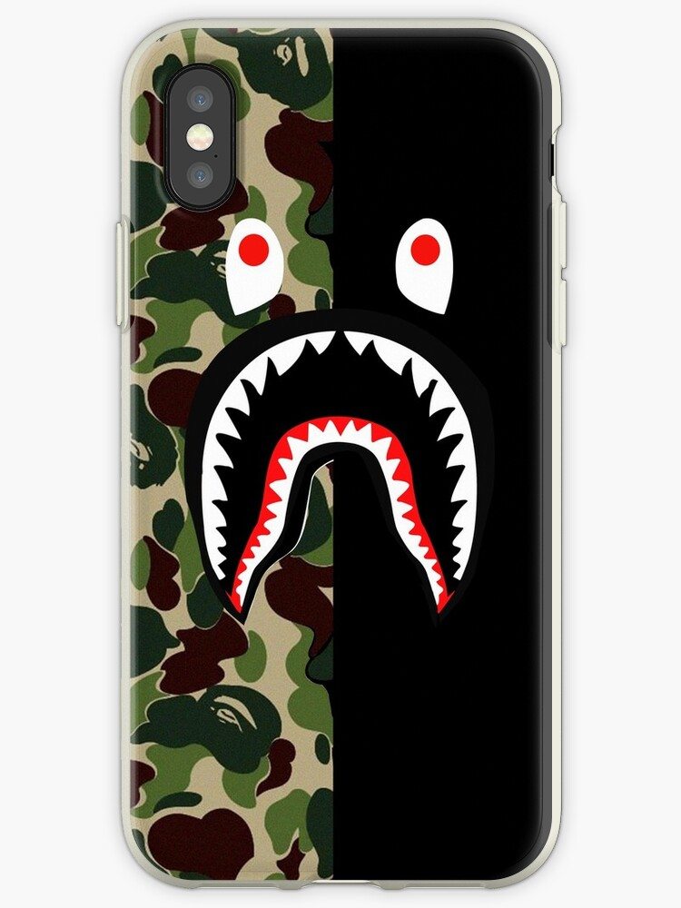 Bape shark black by RhondaBlood