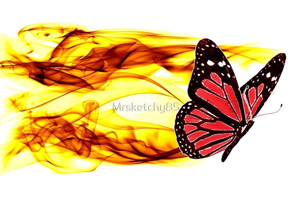 hot rod butterfly by Mrsketchy85
