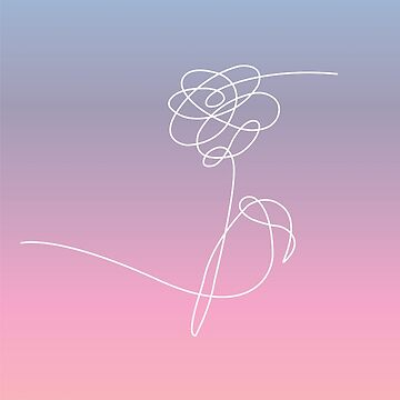 BTS Love yourself colorful design by Kimidesigns