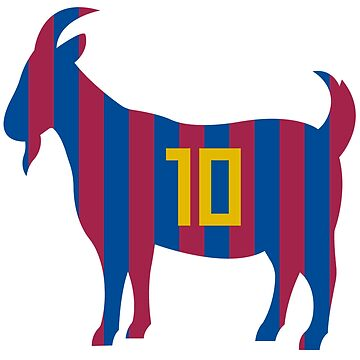 Goat 10 Messi by Julegendju
