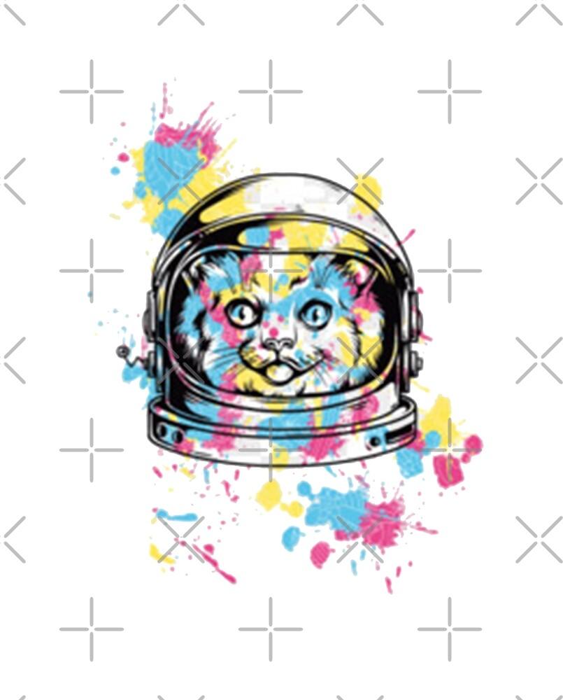Space cat by Neoraidena