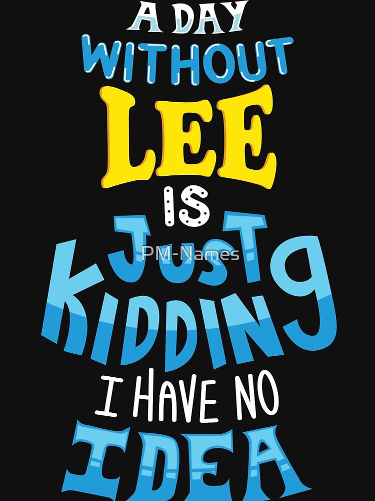 Best Friends Dearest Name Design Lee by PM-Names