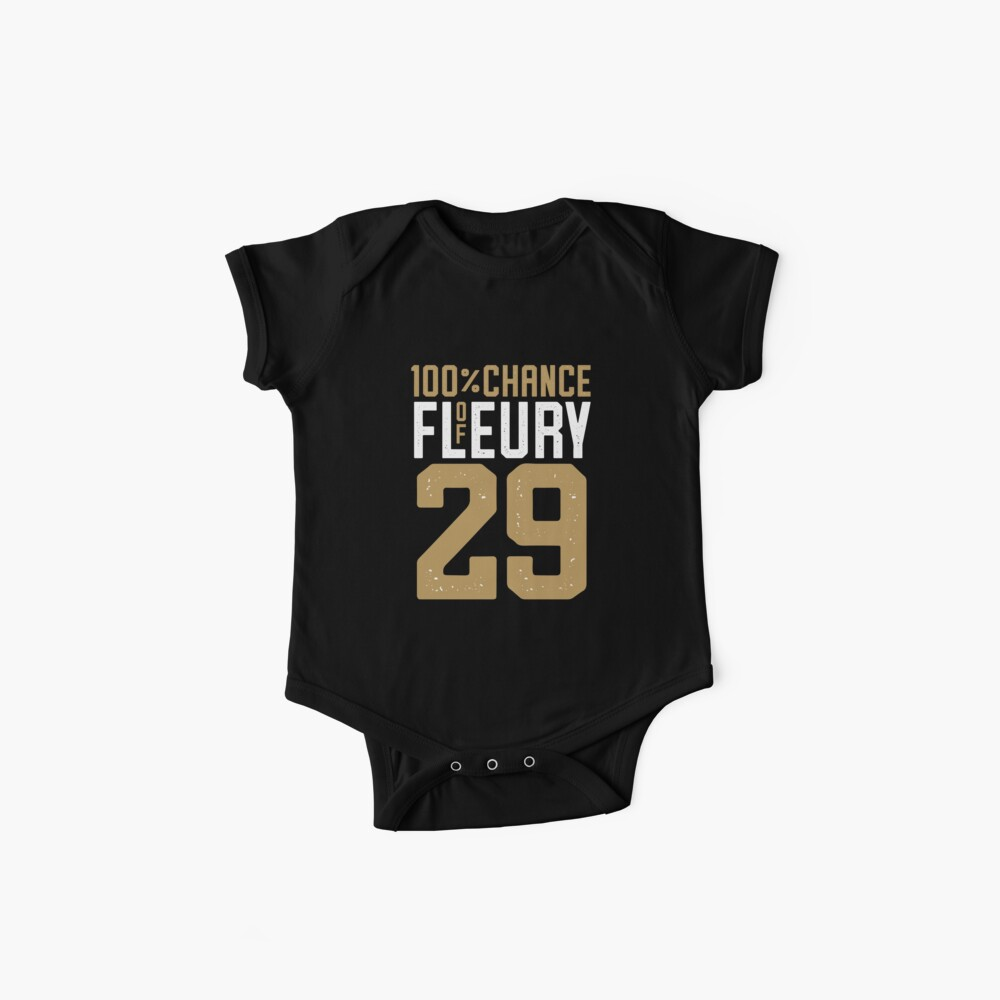 on sale a114d fd5e1 Vegas Golden Knights (100% Chance of Fleury) | Baby One-Piece