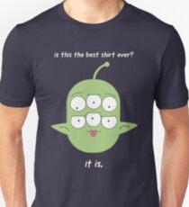 it is. Unisex T-Shirt