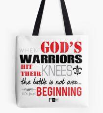 God's Warriors Tote Bag