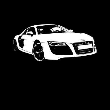 Audi R8 Silhouette by S-p-a-c-e