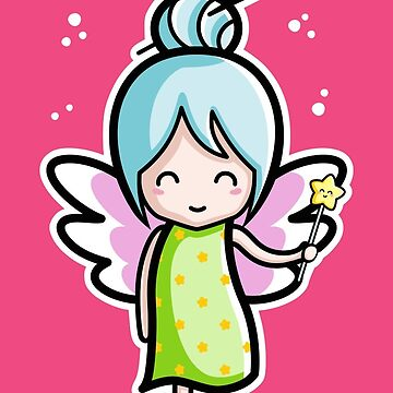 Kawaii Cute Fairy by freeves