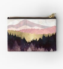 Plum Forest Zipper Pouch