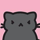Peppercorn, the moody black cat by BountifulBean