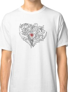 A Heart Full of Emotion Tee. Classic T-Shirt