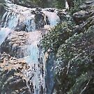 Waterfalls of the Ferriere Valley by Patrick Ezechiele Art