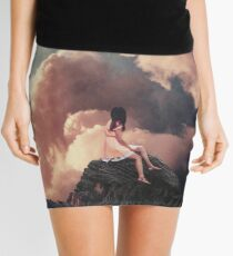 You came from the Clouds Mini Skirt