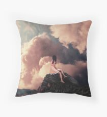 You came from the Clouds Throw Pillow
