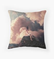 You came from the Clouds Floor Pillow