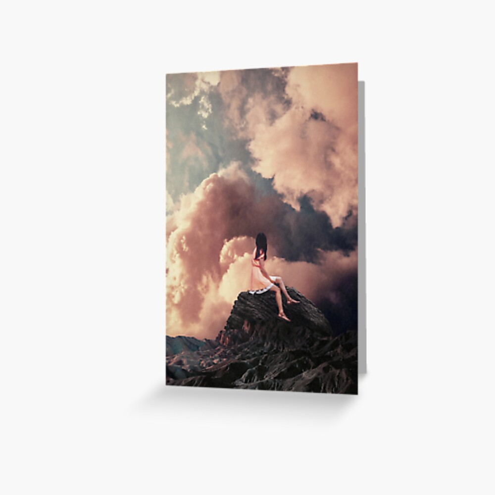 You came from the Clouds Greeting Card