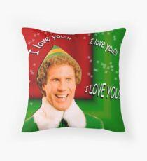 Buddy the Elf - Love Throw Pillow