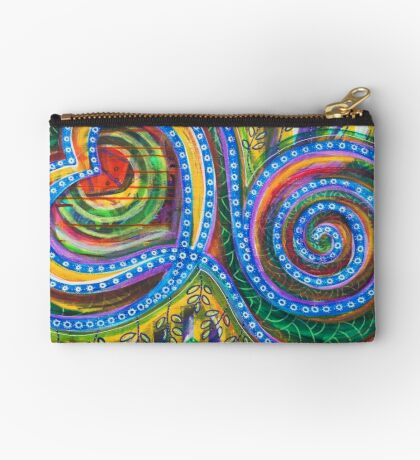 Permission to Trust your Bliss: Inner Power Painting Studio Pouch