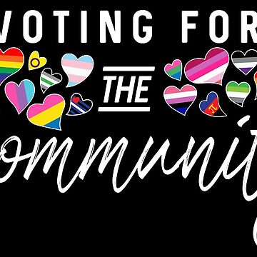 Voting for the Community - LGBTQA Rights by WingMarks