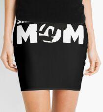 Skateboard Mom T-Shirt Skateboard Gift Mother Skateboard Silhouette Tee Mini Skirt
