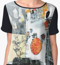 Casks and murales Chiffon Top