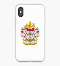 Coat of arms of the Colombian Navy iPhone Case