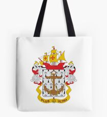 Coat of arms of the Colombian Navy Tote Bag