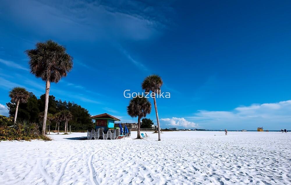 Siesta Beach by Gouzelka