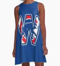 Chicago Cubs W A-Line Dress
