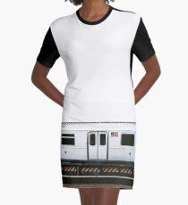Vestido camiseta estación de tren de brookyln