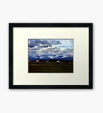 Foothills Morning Framed Print