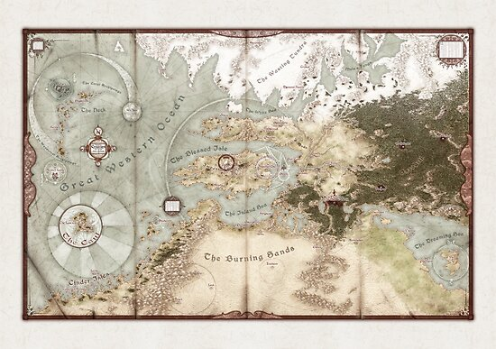 Exalted Map of Creation by TheOnyxPath