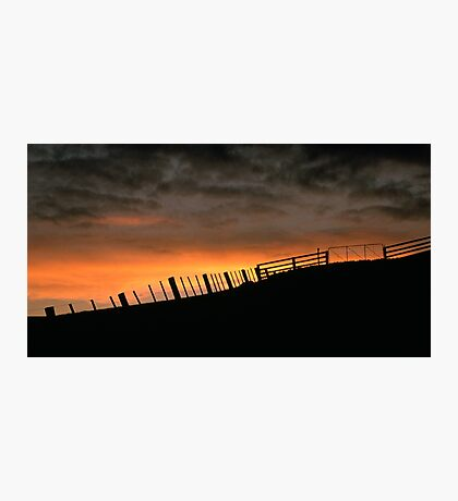 Barrabool Hills Skyline Photographic Print