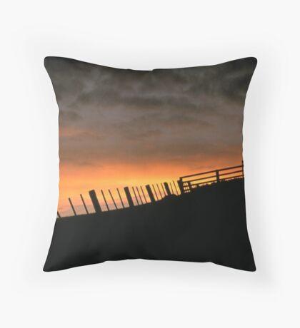 Barrabool Hills Skyline Throw Pillow