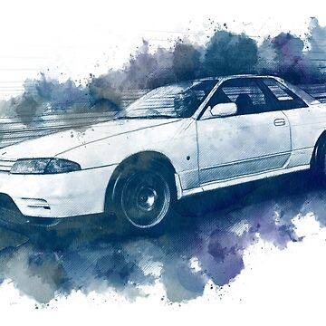 R32 watercolor by ApexFibers