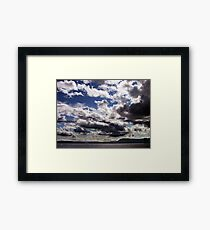 An Evening in June Framed Print