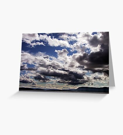 An Evening in June Greeting Card