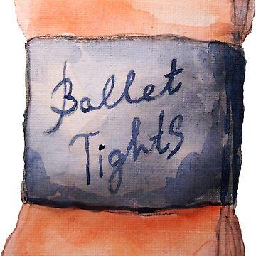 Ballet tights by Kuhtina
