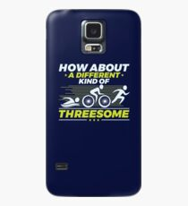 Triathlon How About A Different Kind Of Threesome Case/Skin for Samsung Galaxy