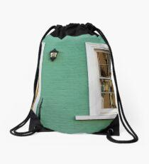 Green House in Chelsea Drawstring Bag