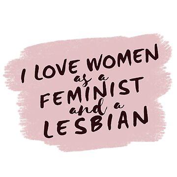 as a feminist lesbian (2018 version)  by shinysylvieon