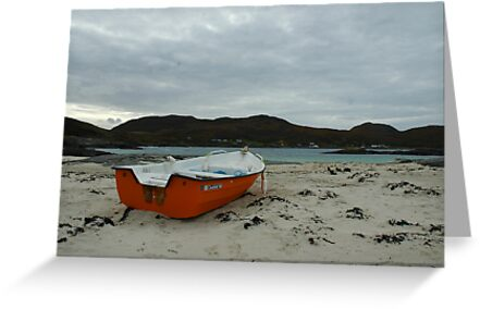 Red Boat at Sanna by James Stevens