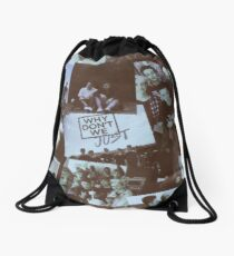 blure Drawstring Bag