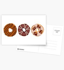Donuts Postcards