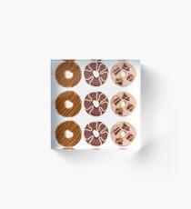 Donuts Acrylic Block