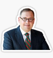 Andrew Martin Headshot WashU WUSTL Chancellor Washington University Sticker