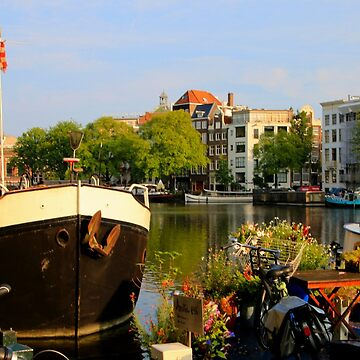 Canal life, Amsterdam, Holland by FranWest