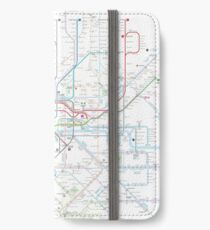 London tube map iPhone Wallet/Case/Skin