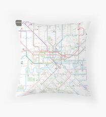 London tube map Throw Pillow
