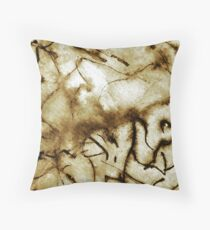 Primitive Cave Art Throw Pillow